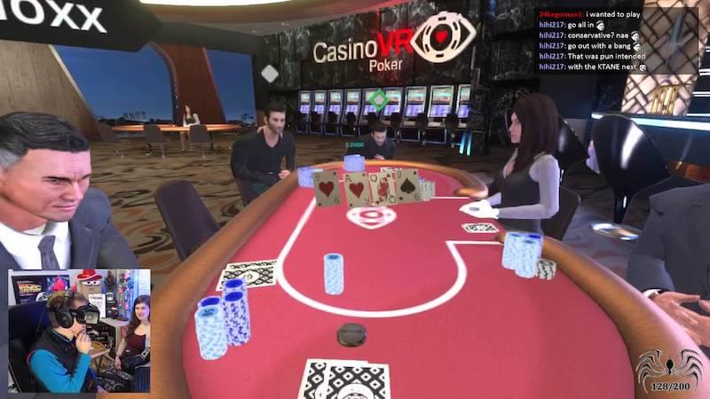 Les établissements de jeu se tournent vers la réalité virtuelle pour exciter les joueurs